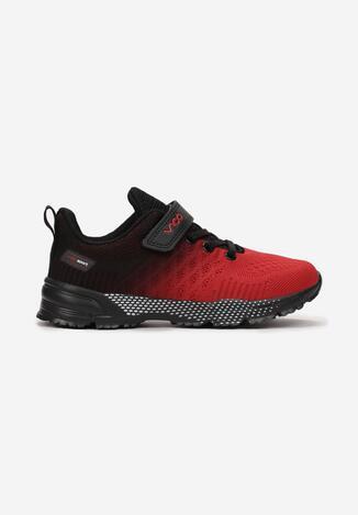 Czerwono-Czarne Buty Sportowe Wysthine