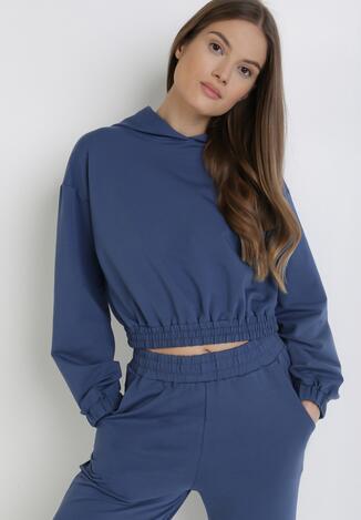 Granatowa Bluza Melaeno