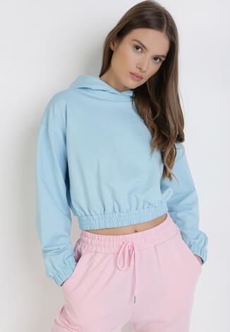 Jasnoniebieska Bluza Melaeno