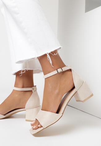 Beżowe Sandały Crialodia