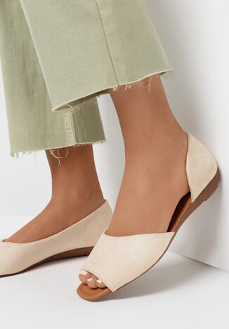 Beżowe Sandały Lainne
