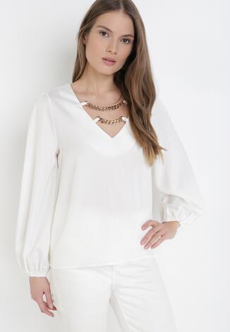 Biała Bluzka Mhyrlisa