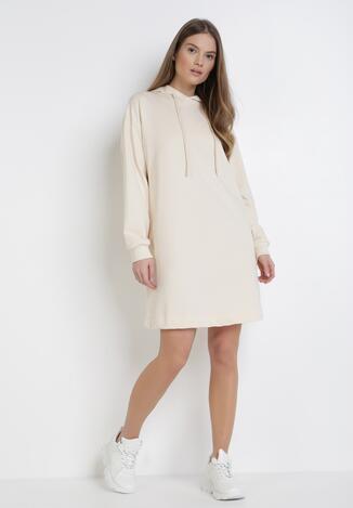 Kremowa Sukienka Morgarea