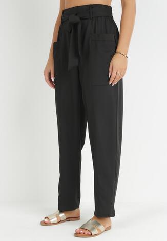 Czarne Spodnie Peness