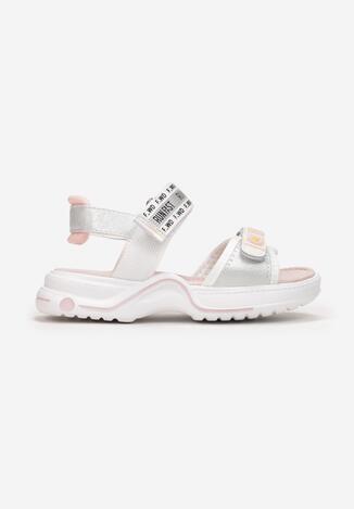 Białe Sandały Echiliria