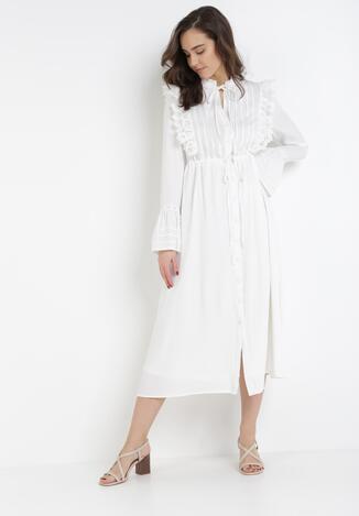 Biała Sukienka Nixophis