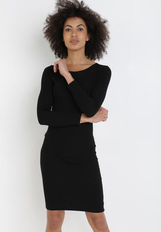 Czarna Sukienka Mephorise