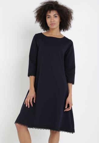 Granatowa Sukienka Phalanthei
