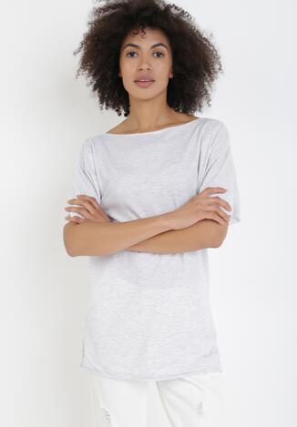 Szary T-shirt Kissosi