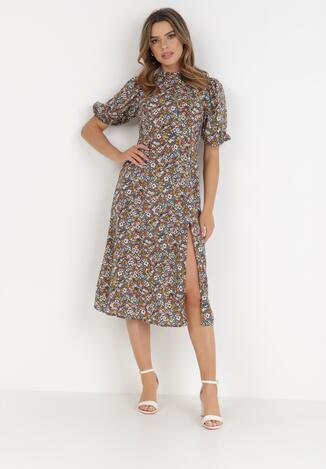 Granatowa Sukienka Daphrane