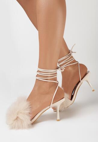Beżowe Sandały Evithephine