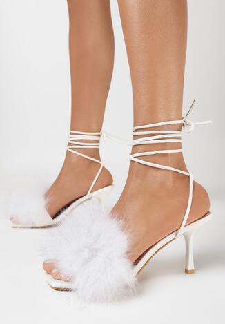 Białe Sandały Evithephine