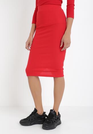 Czerwona Spódnica Anthais