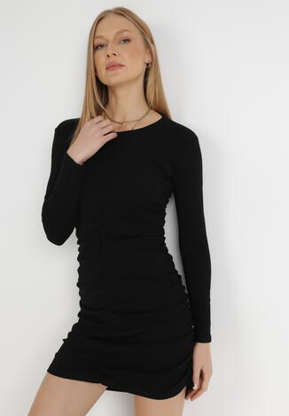 Czarna Sukienka Hysiphae