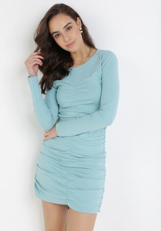 Jasnoniebieska Sukienka Hysiphae