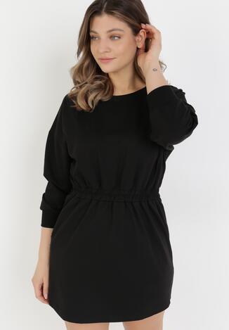 Czarna Sukienka Apheasi