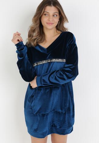Ciemnoniebieska Bluza Klephacia