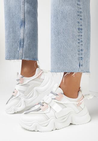Białe Sneakersy Morgareida