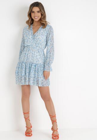 Jasnoniebieska Sukienka Azalora