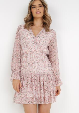 Jasnoróżowa Sukienka Azalora