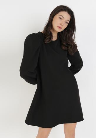 Czarna Sukienka Thelxierise