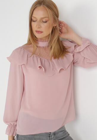 Różowa Bluzka Talobel