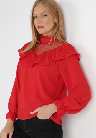 Czerwona Bluzka Talobel