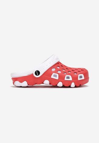 Czerwono-Białe Klapki Dodina