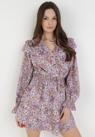 Liliowa Sukienka Callalee