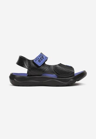 Czarne Sandały Aethegina