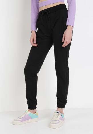 Czarne Spodnie Dresowe Shylienne
