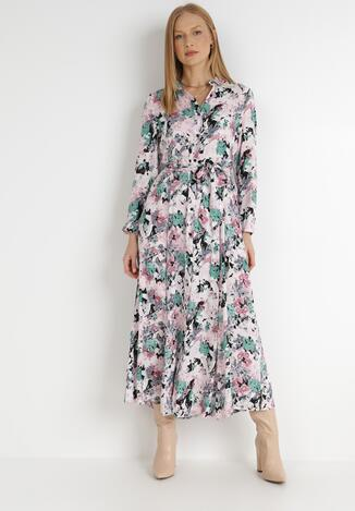 Jasnoróżowa Sukienka Euphyphe