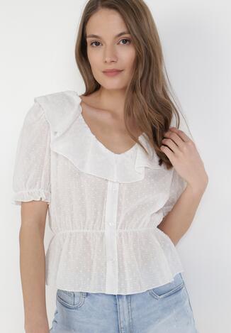 Biała Bluzka Nyxite