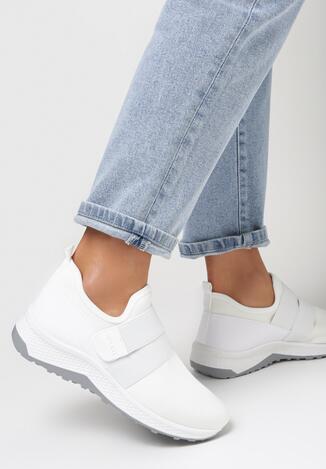Białe Buty Sportowe Daphireisis
