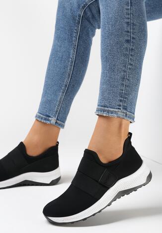 Czarne Buty Sportowe Daphireisis