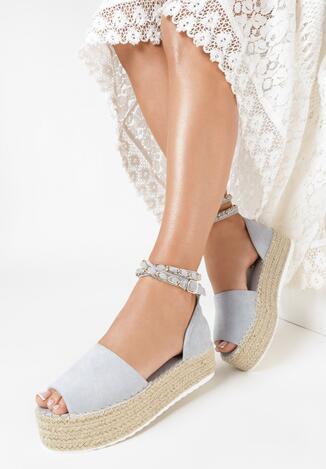 Niebieskie Sandały Kaphyxio