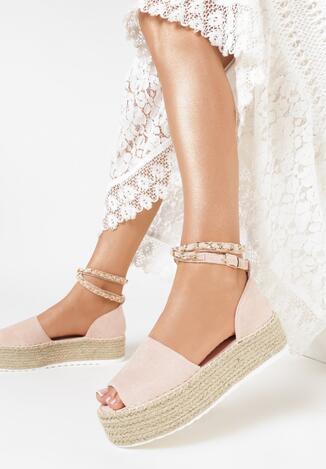 Różowe Sandały Kaphyxio