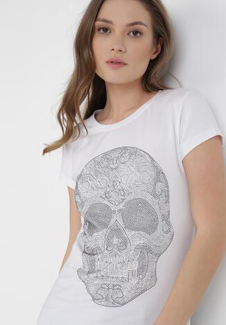 Biały T-shirt Taphiphae