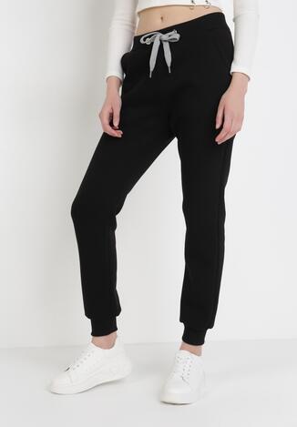 Czarne Spodnie Dresowe Lephose