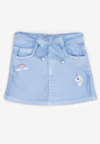 Niebieska Spódnica Ethemophi