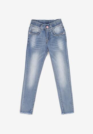 Niebieskie Jeansy Skinny Amathusei