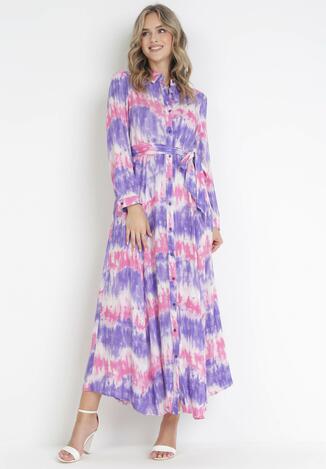 Fioletowa Sukienka Nephohsa