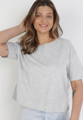 Jasnoszary T-shirt Tililli