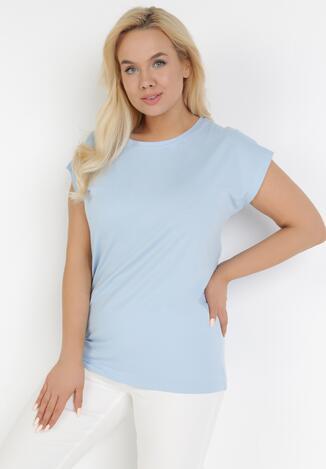 Jasnoniebieski T-shirt Casteis