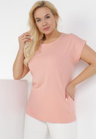 Różowy T-shirt Phrixalise