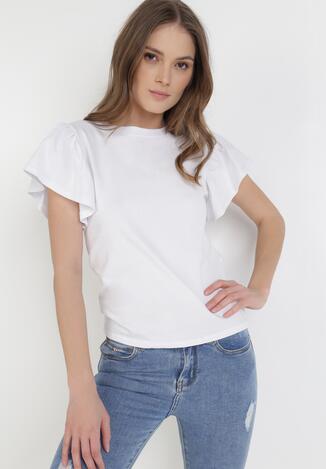 Biały T-shirt Phoiphei