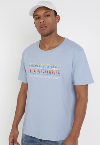 Jasnoniebieska Koszulka Leucogenia