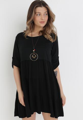 Czarna Sukienka Chalelsa