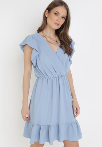 Niebieska Sukienka Astriax