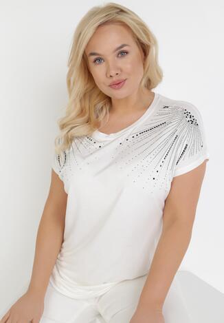 Biała Bluzka Limorope